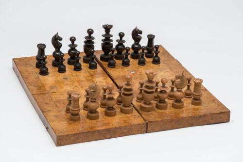 Regence Style chess set