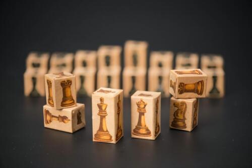The Siege chess set