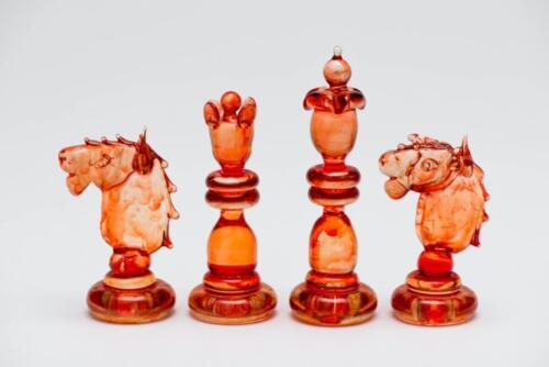 Bohemian Glass chess set