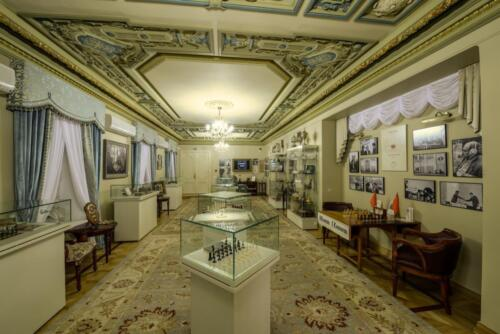 In 2014, the Chess Museum was opened in the renovated halls, ready for exhibitions