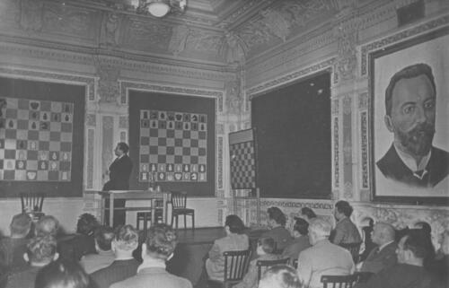 «Чигорниский зал»: Демонстрация партий турнира претендентов. 1959