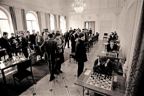 Большой зал: Полуфинальный матч Телешахолимпиады. СССР–Англия. 1982