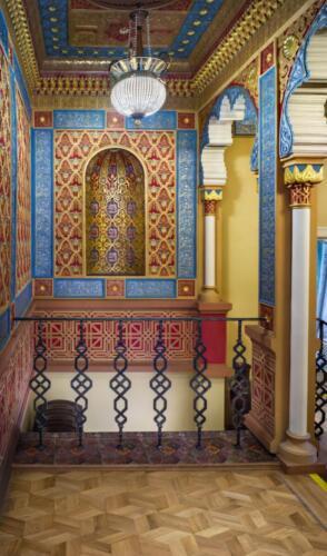 «Мавританская» комната сохранила отделку в ориентальном стиле середины XIX века