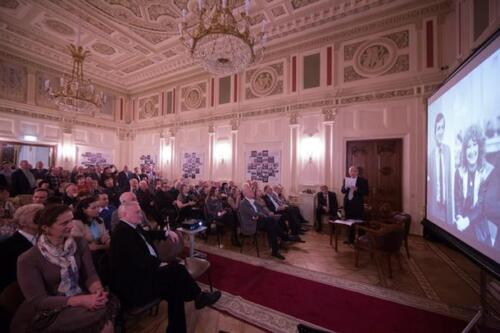 Вечер в честь юбилея и выставки шахматного фотографа Б. Г. Долматовского, 2017