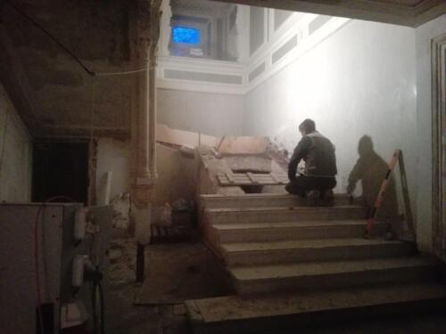 Ремонт лестницы. 2017.